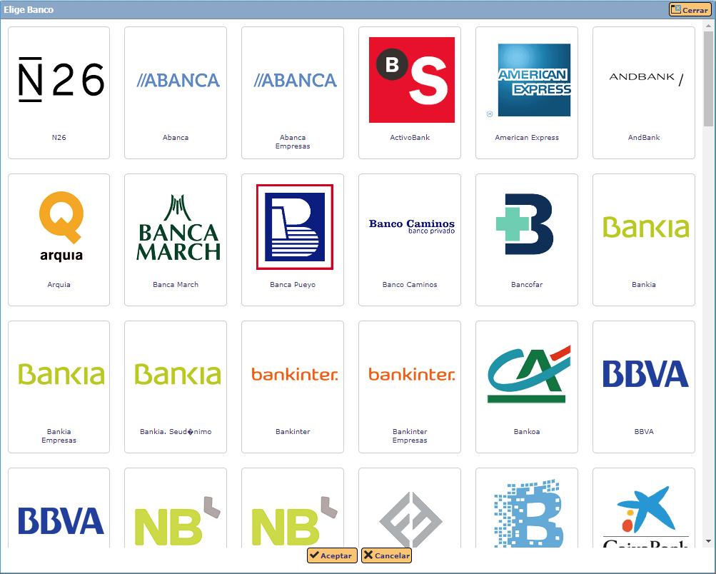 elige tu banco