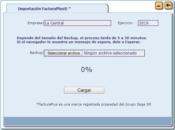 importacion facturaplus