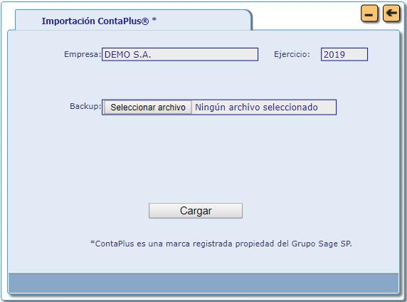 importar datos ContaPlus